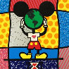 Mickey's World 1996 Limited Edition Print by Romero Britto - 0