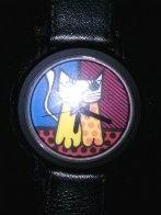 Cat Watch 1993 Jewelry by Romero Britto - 2