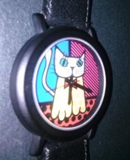 Cat Watch 1993 Jewelry by Romero Britto