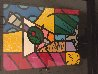 Martini Glass With Olive 23x20 Original Painting by Romero Britto - 5
