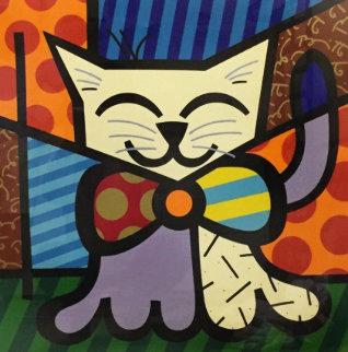 L.A. Cat 1995 Limited Edition Print by Romero Britto