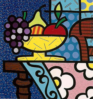 Home 1992 Limited Edition Print by Romero Britto