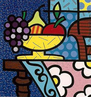 Home 1992 Limited Edition Print by Romero Britto