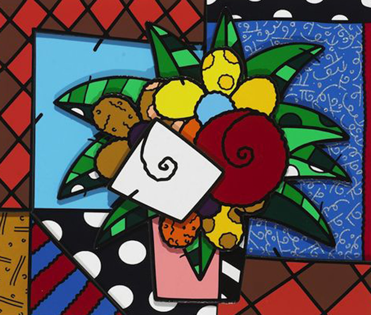 New Spring 2008 Limited Edition Print by Romero Britto