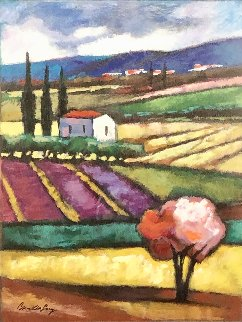 Sunset Valley 2003 Embellished Limited Edition Print - Slava Brodinsky