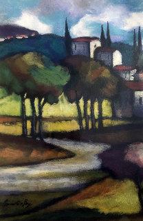 Quiet Town  2003 Limited Edition Print - Slava Brodinsky