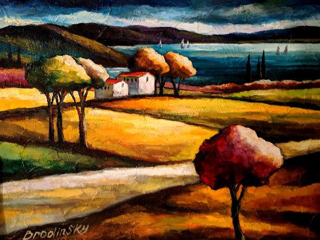 Valley of Echos 2016 28x36 Original Painting by Slava Brodinsky