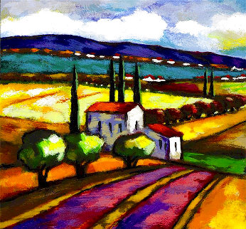 Magenta Road 2006 Limited Edition Print - Slava Brodinsky