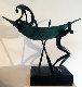 Looking For Deep Water Bronze Sculpture 1992 Sculpture - Leon Bronstein