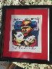 Tribute to Hank Williams 1999 17x15 Original Painting by Herman Brood - 1