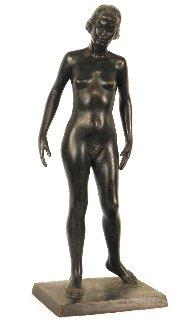June Bronze Sculpture Unique 1949 13 in Sculpture - Joe Brown