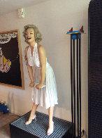 Marilyn Epoxy monumental Sculpture 1984 102 in Sculpture by Rene de Broyer - 2