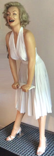 Marilyn Epoxy monumental Sculpture 1984 102 in Sculpture - Rene de Broyer