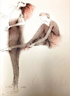 Untitled Ballerinas 1980 Limited Edition Print - Bruno Bruni