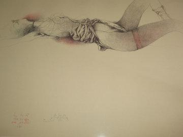 Nach Klimt 1980 Limited Edition Print - Bruno Bruni
