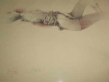 Nach Klimt 1980 Limited Edition Print by Bruno Bruni