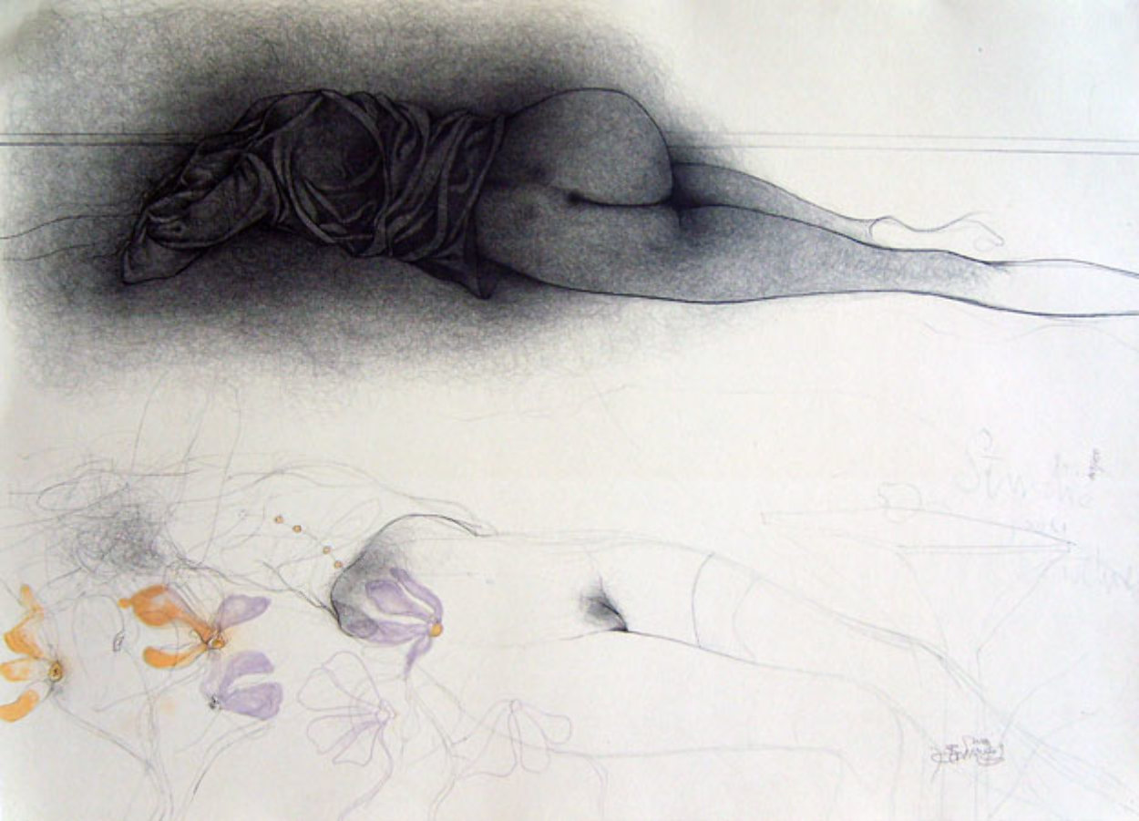 Eroticism 1979 Limited Edition Print by Bruno Bruni