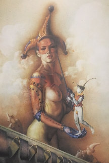 Juggler 1990 Limited Edition Print by Gil Bruvel