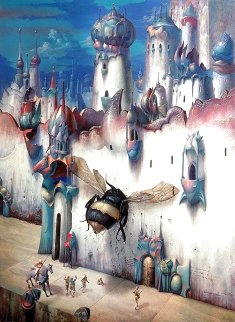 Infinitesimal City Limited Edition Print - Gil Bruvel