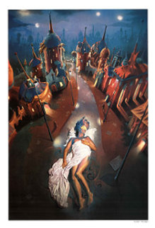 Night 1989 Limited Edition Print by Gil Bruvel