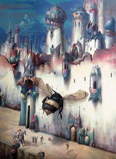 Infinitesimal City 1989 Limited Edition Print - Gil Bruvel