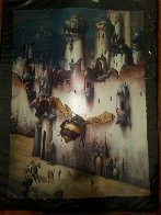 Infinitesimal City 1989 Limited Edition Print by Gil Bruvel - 4