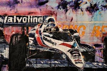 Long Beach Grand Prix 1990 48x84 Original Painting by Michael Bryan