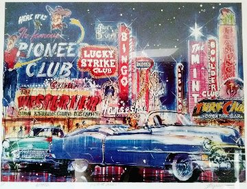 Vintage Vegas Limited Edition Print by Michael Bryan