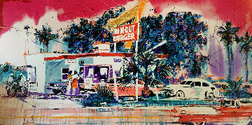 In N Out Burger Limited Edition Print by Michael Bryan