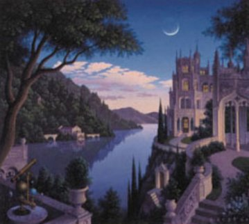 Cheshire Moon 1993 Limited Edition Print by Jim Buckels