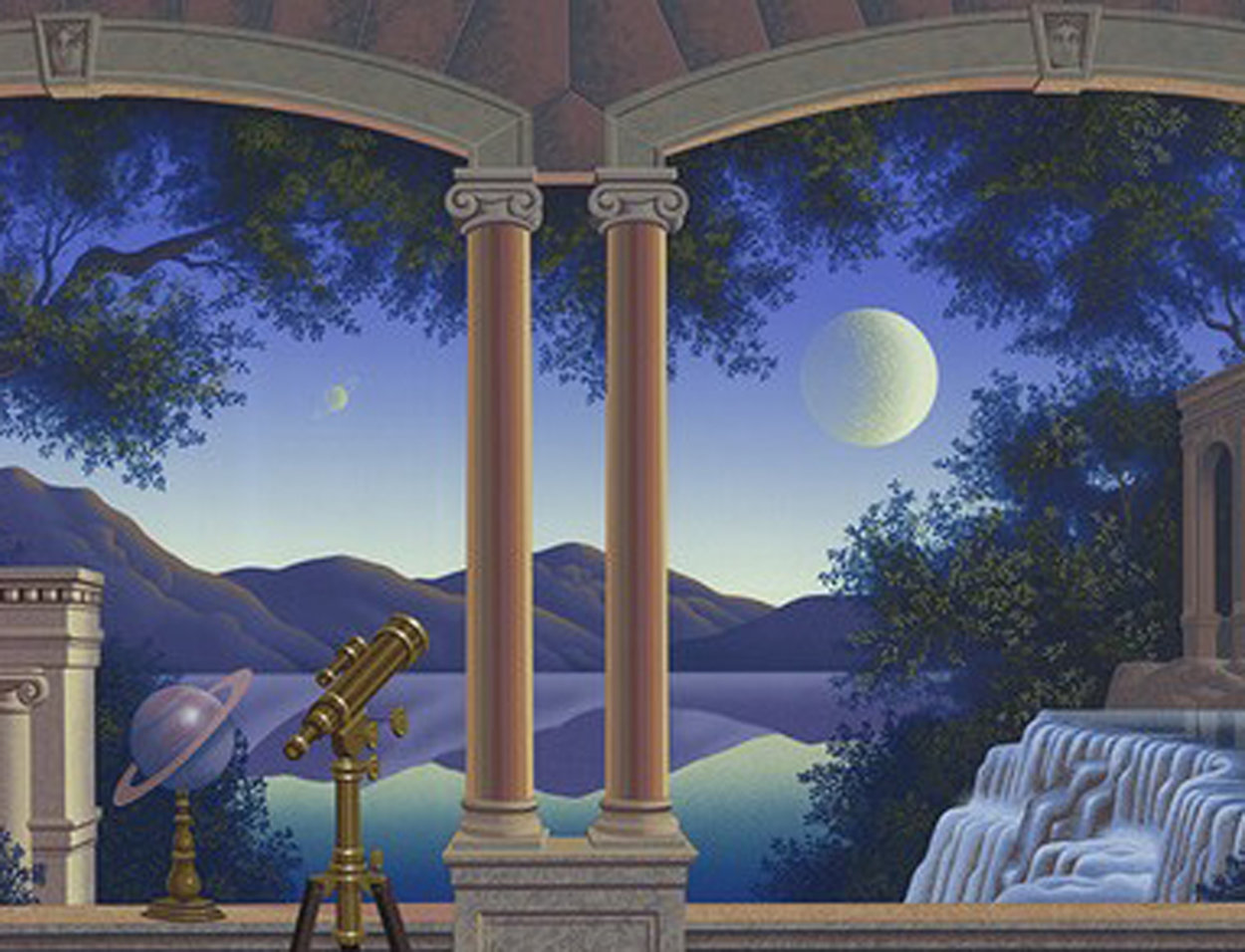 Saturnella 1996 Limited Edition Print by Jim Buckels