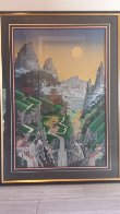 Seventh Torii 1988 Limited Edition Print by Jim Buckels - 1