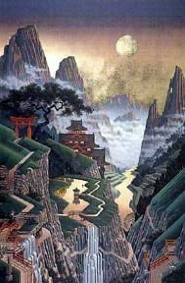 Seventh Torii 1988 Limited Edition Print by Jim Buckels