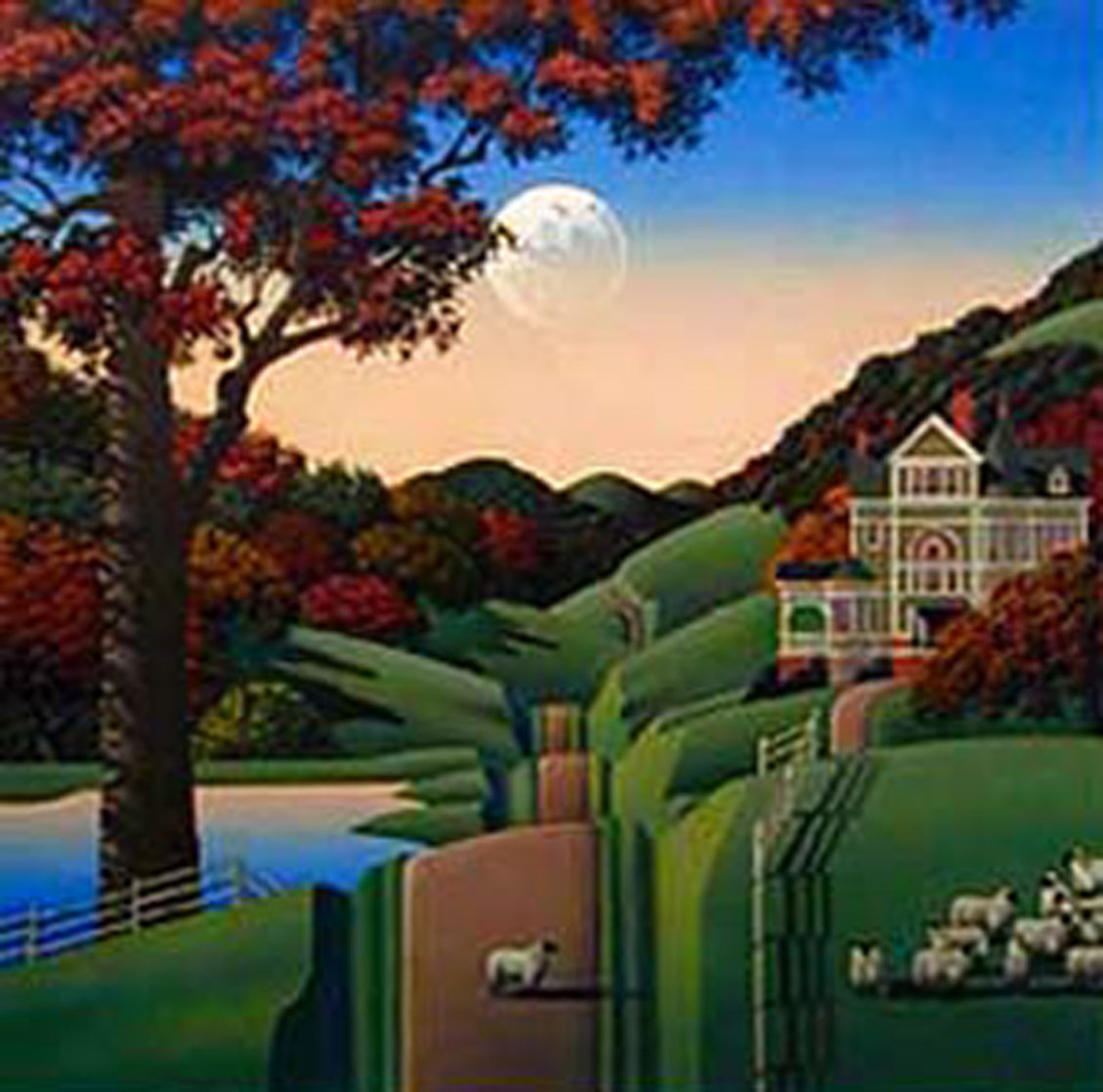 Seven Sisters Road 1988 Limited Edition Print by Jim Buckels
