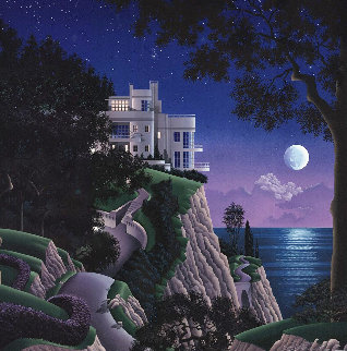 Druid Point 1988 Limited Edition Print by Jim Buckels