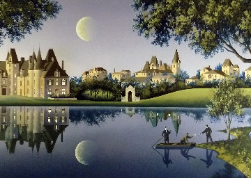 She Sends Her Regrets 1997 Limited Edition Print - Jim Buckels