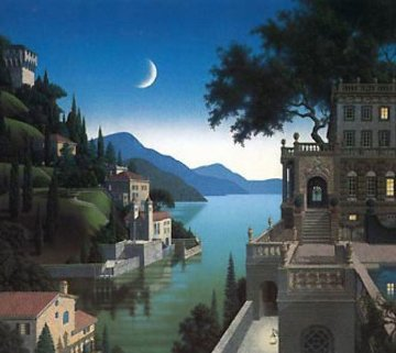 Princess Kept the View AP 1990 Limited Edition Print by Jim Buckels