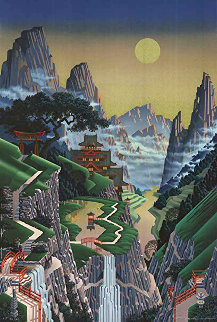 Seventh Torii 1989 Limited Edition Print by Jim Buckels