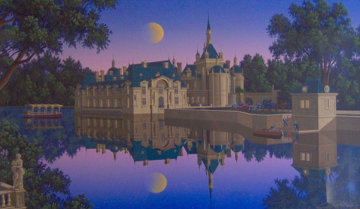Boating Party 1994 Limited Edition Print by Jim Buckels