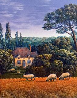 Nez Casse 2000 16x14 Original Painting by Jim Buckels
