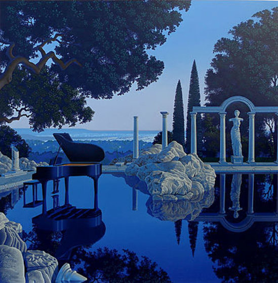 Blue Ruin 1990 Limited Edition Print by Jim Buckels