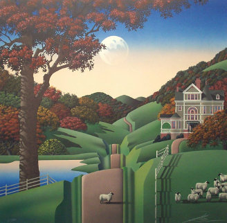 Seven Sisters Road PP 1988 Limited Edition Print by Jim Buckels