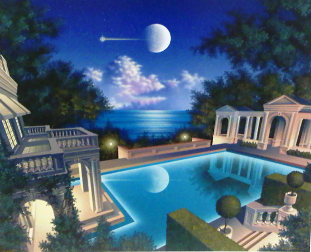 Freccia  D'oro PP 1996 Limited Edition Print by Jim Buckels
