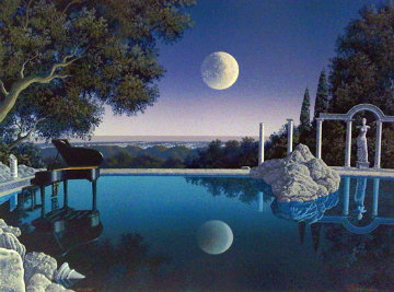 Bel Air Blues PP 1998 Limited Edition Print by Jim Buckels
