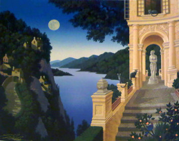 Two Suitors 1999 Limited Edition Print - Jim Buckels