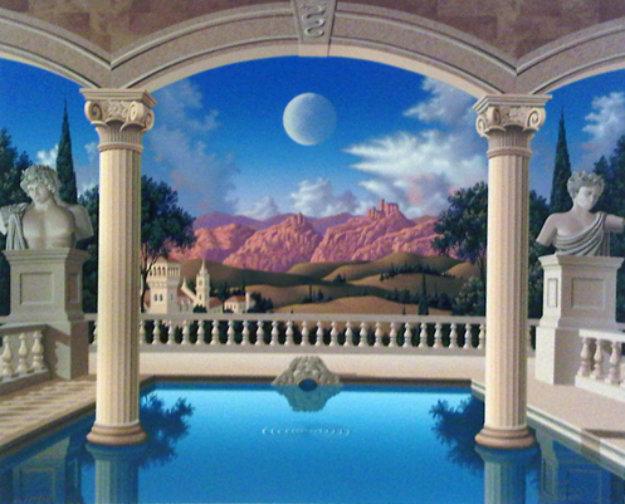 Villa Visconti 1995 Limited Edition Print by Jim Buckels