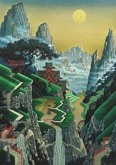 Seventh Torii 1989 Limited Edition Print - Jim Buckels