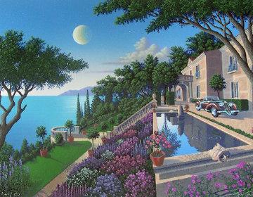 Villa Capulet AP 1992 Limited Edition Print - Jim Buckels
