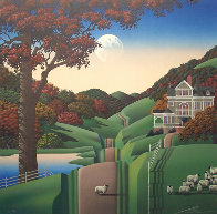 Seven Sisters Road 1988 Limited Edition Print by Jim Buckels - 0