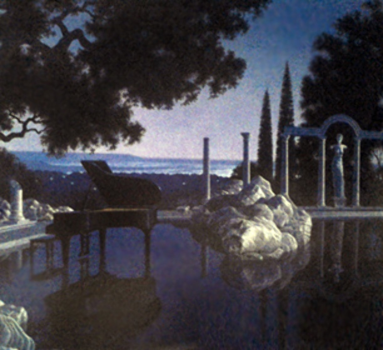 Blue Ruin 2002 Limited Edition Print by Jim Buckels
